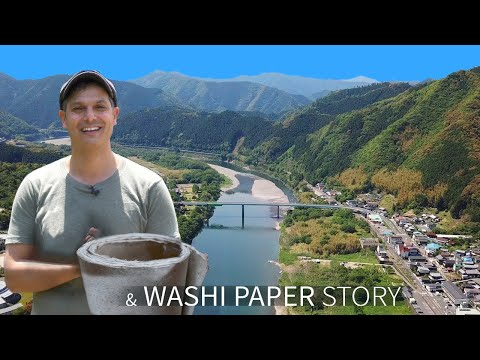 Japanese Washi Paper Story | Shimanto River ★ ONLY In JAPAN