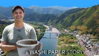 Japanese Washi Paper Story   Shimanto River ★ ONLY in JAPAN