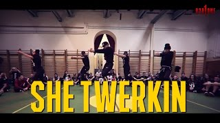 "Ca$h Out ""SHE TWERKIN"" Choreography by Duc Anh Tran @DukiOfficial @TheRealCashOut"