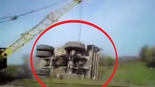 Heavy Equipment Machines Accidents Amazing Truck Fails Compilation
