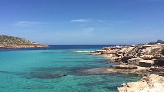 Platges de Comte (Cala Conta Beach) May 2017, Sant Josep de sa Talaia, Ibiza, Spain #ibiza #spain