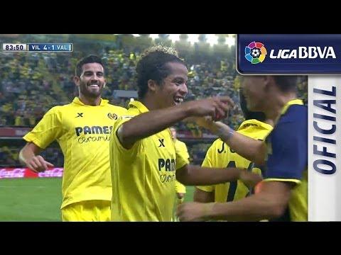 Golazo de Gio dos Santos (4-1) en el Villarreal CF- Valencia