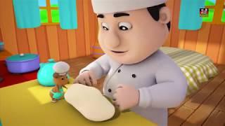 Pat ein Kuchen pat ein Kuchen Bäcker Mann Kuchen-Lied Original Kinderreime 3D Rhymes Pat A Cake