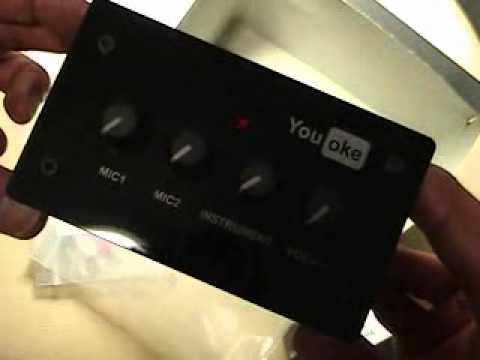 แกะกล่อง YouOke เครื่องร้องคาราโอเกะ