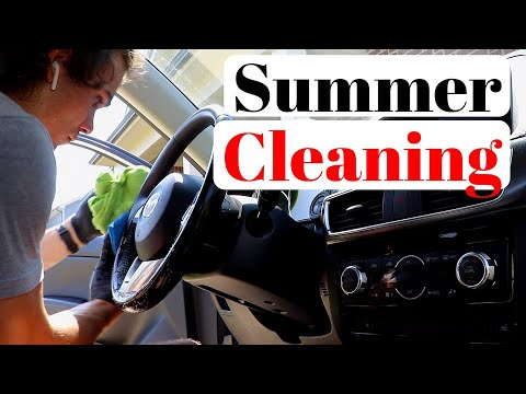 How To Detail Your Car Interior From Start to Finish | CLEANING EVERYTHING