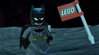 LEGO Batman 3: Beyond Gotham - Batman Has Landed on the Moon (Moon Base Free Roam)