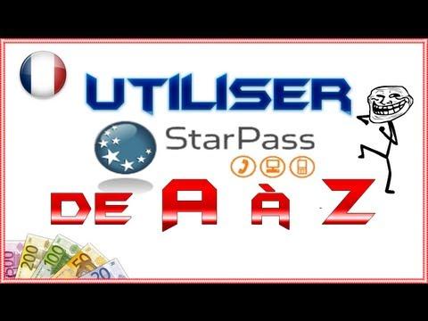 [BIG TUTO] Utiliser STARPASS de A à Z !