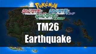 Pokemon Ruby/Sapphire/Emerald - Where to find TM26 Earthquake