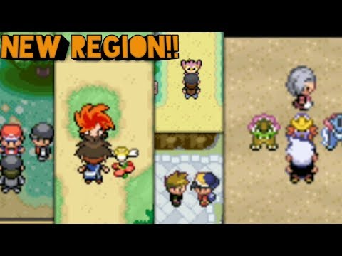 Top 5 POKEMON GBA ROM HACKs With NEW REGION?!