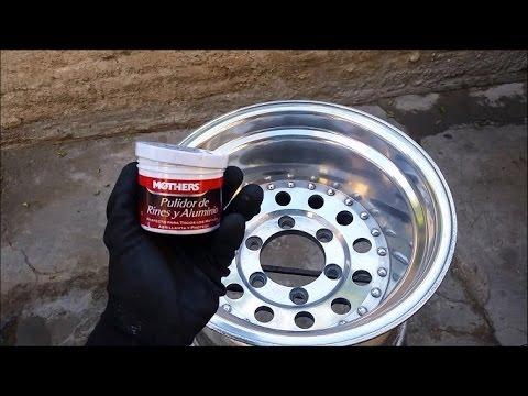 Como pulir rines de forma casera econ mica youtube - Pulir llantas de aluminio a espejo ...
