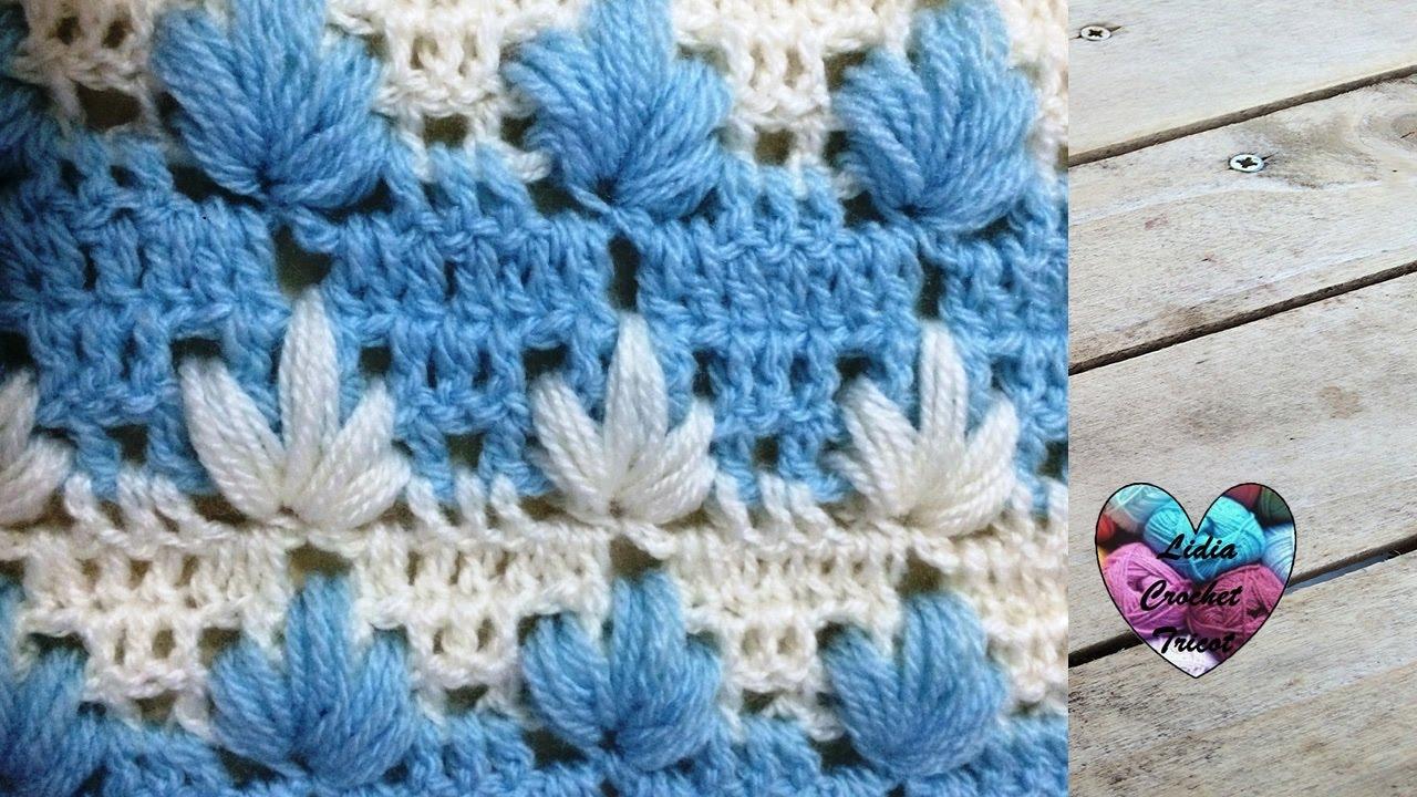 point magnifique facile crochet punto maravilloso tejido a crochet youtube. Black Bedroom Furniture Sets. Home Design Ideas
