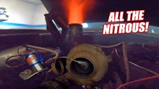 Download Blasting Our Cummins Galaxie With NITROUS! Dyno Boggin the NEW Fuel System Upgrades! Mp3 and Videos