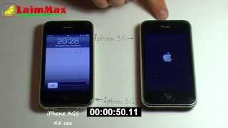 Сравнение iPhone 3G и iPhone 3GS / iPhone 3G vs iPhone 3GS / 3g vs 3gs