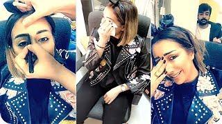 شيماء علي تسوي مكياج لفرح الهادي وتحولها الى ملكة في غاية الجمال 💄💋