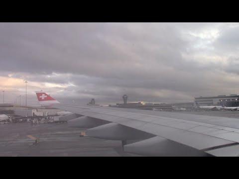 SWISS Flight LX38 | Landing | San Francisco (KSFO)  | A343