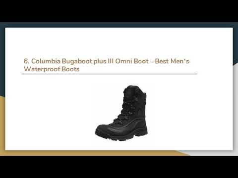 Top 11 Best Men's Waterproof Boots in 2019 – Buyer's Guide