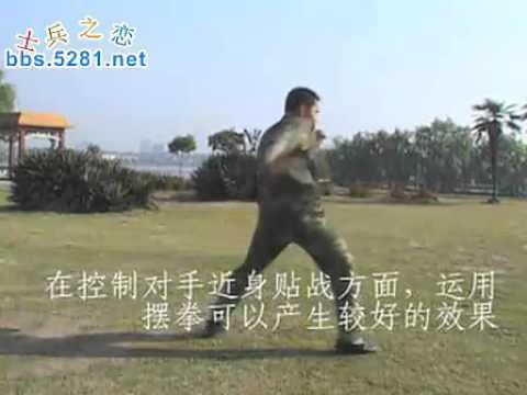 中国特警擒拿格斗