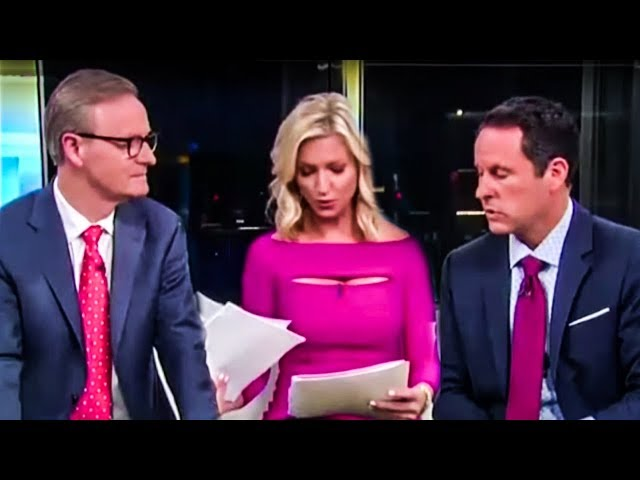 Fox & Friends Host Suddenly Realizes Her Viewers Are Total Idiots