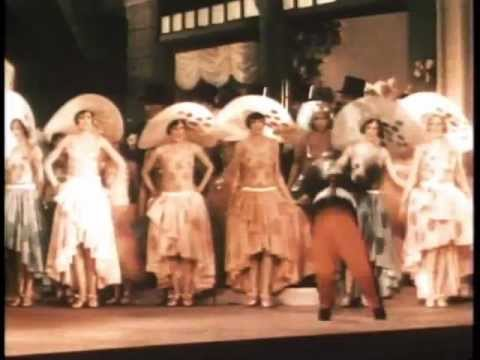 Scenes from Gold Diggers of Broadway 1929 Lost color musical!