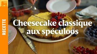 Cheesecake Bio aux spéculoos