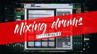 Mixing Drums Tutorial | Hip Hop / Trap Drums | Behind the MIX