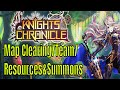 Knights Chronicle: Game Flow/Map Clearing/My Team/Spending Resources and Summons