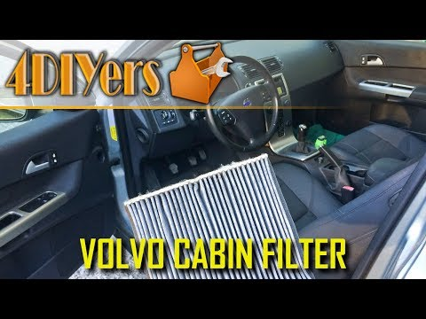 How to: Volvo C30 S40 V50 C70 Cabin Air Filter Replacement