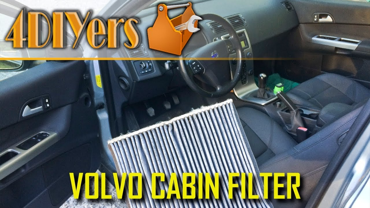 medium resolution of volvo c30 s40 v50 c70 cabin air filter replacement