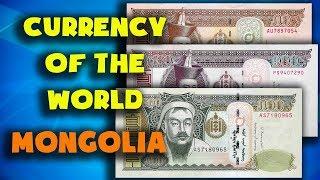 Currency of the world - Mongolia. Mongolian tugrik. Exchange rates Mongolia.Mongolia banknotes