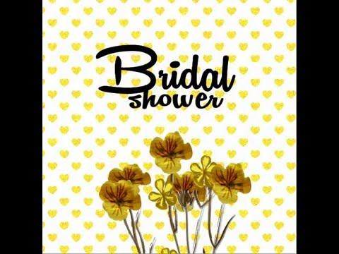 Cinderella's Bridal shower E-invitation