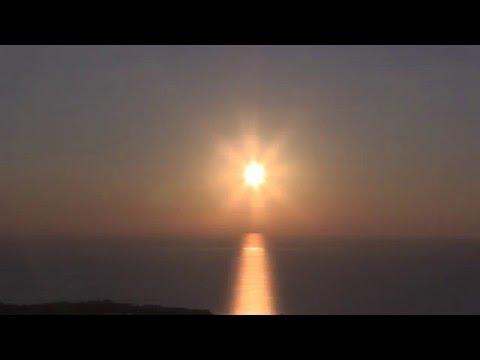 Закат солнца на Кипре - ускоренная сьемка