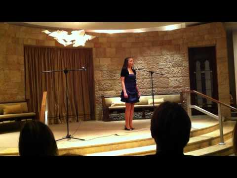 "Katya recites ""The New Colossus"" at VanDamme Academy Winter 2010 Recital"