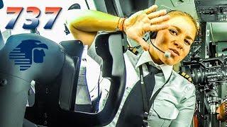 MARIA FERNANDA Pilots BOEING 737 out of Cancun