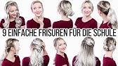 Funf 5 Minuten Frisuren Einfache Frisuren Fur Schule Uni Arbeit Alltag Youtube