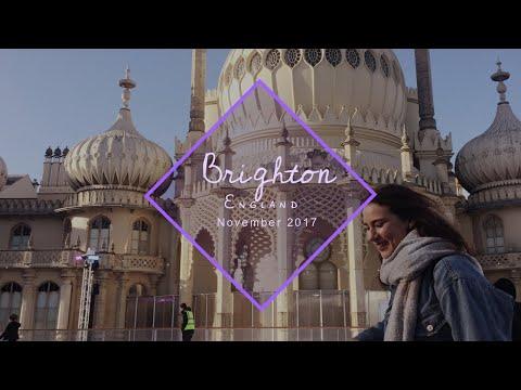 Travel vlog #17: Brighton, England. | Brighton Pier, Royal Pavillion,...