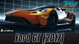 Need For Speed No Limits: Ford GT (2017) (MAXXED OUT + Tuning [All Black Edition Parts])