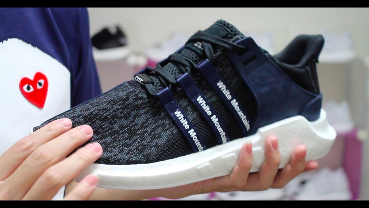 timeless design fd88d 96c6b 小馬開箱介紹EQT SUPPORT 93 17 x white mountaineering review BB3127 黑藍配色重磅聯名
