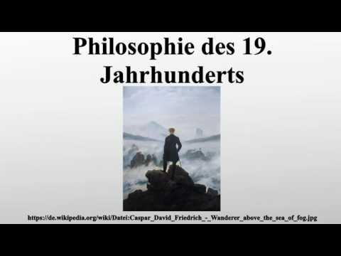 Philosophie des 19. Jahrhunderts