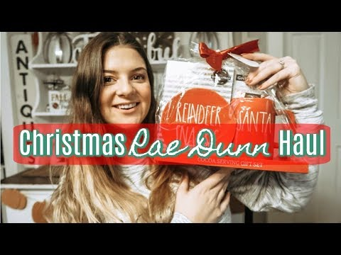 RAE DUNN CHRISTMAS HAUL 2019 | FINDING MY UNICORNS