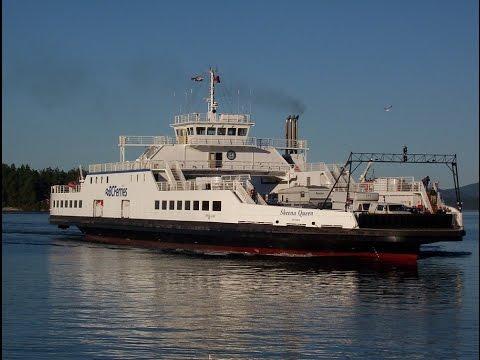 BC Ferries Fulford Harbour to Swartz Bay (Salt Spring Island - Victoria) - Skeena Queen