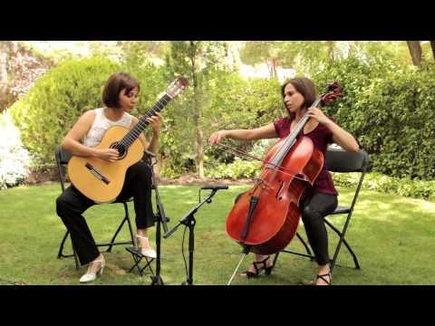 Paola Requena y Marta Requena. Valsay para Cello y Guitarra
