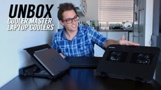 Cooler Master Laptop Cooling Pads Unboxing