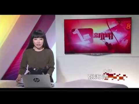 Sabah Quake: Day of National Mourning for Singapore (8 Jun 2015), MediaCorp Ch 8 News