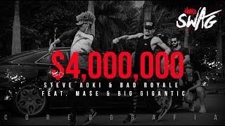 $4,000,000 - Steve Aoki & Bad Royale | FitDance SWAG (Choreography) Dance Video