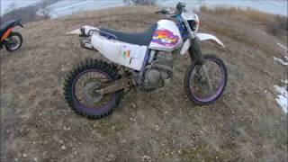 Yamaha TTR 250 Raid Боевой корч