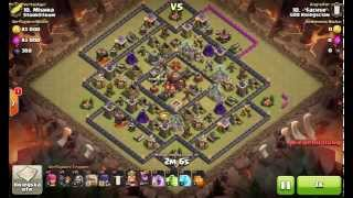 5    3 stars th10 3 sterne rh10    gowiwi    clash of clans