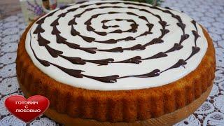 Торт СЕРДЕЧНЫЙ вкусный и быстрый домашний торт СМОЖЕТ КАЖДЫЙ