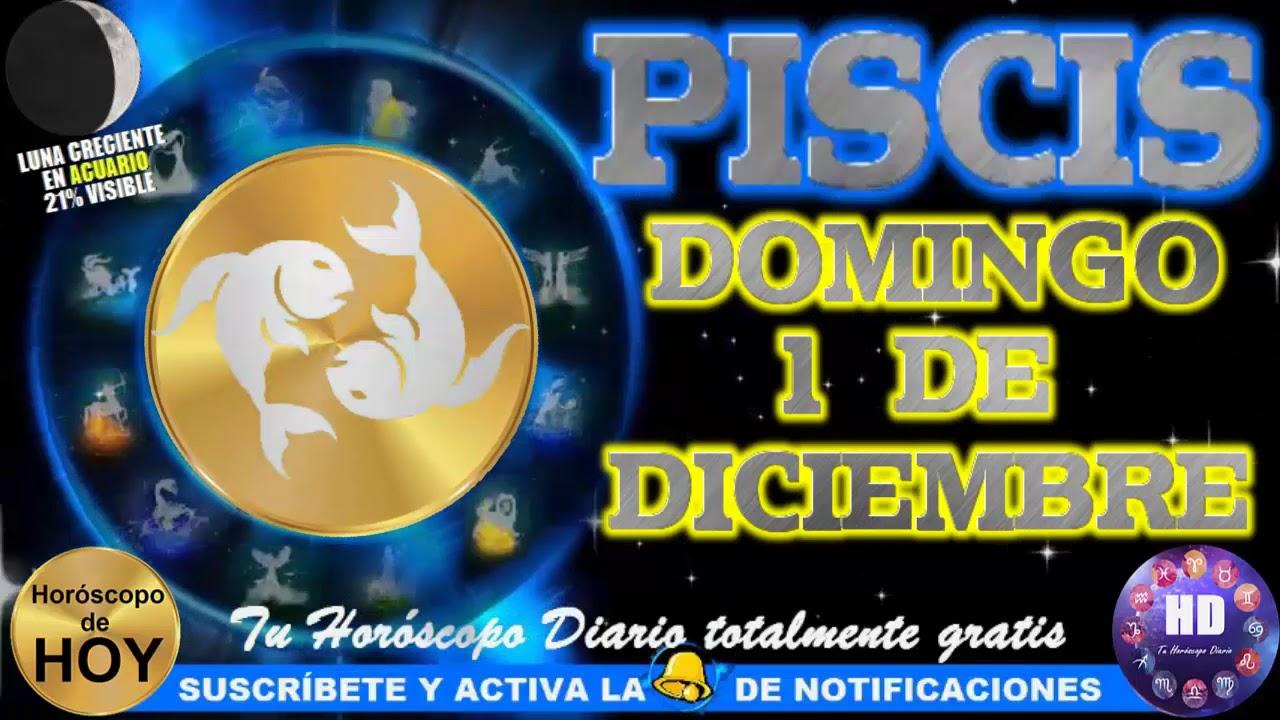 Horóscopo De Piscis Hoy Domingo 1 De Diciembre 2019