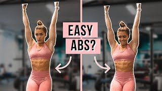 "ABS WORKOUT + BEING REAL WITH YOU ABOUT ""FITNESS"" [VLOG]"
