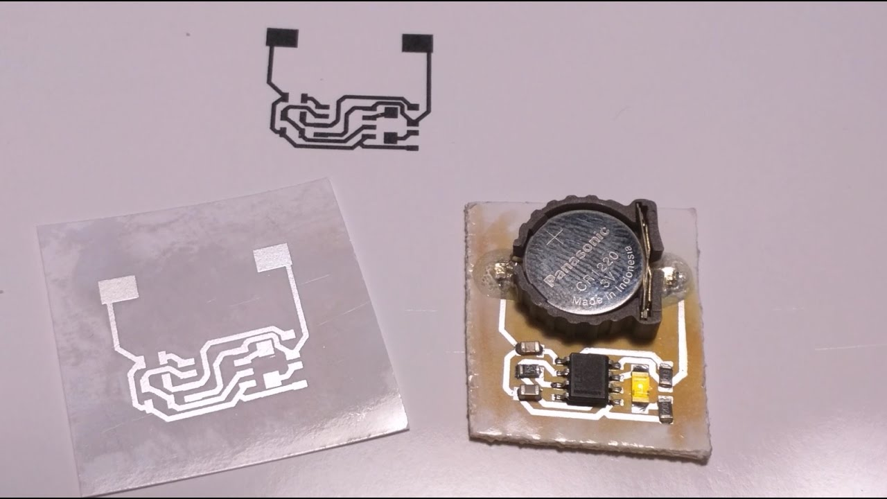 No-etch circuit boards on your laser printer | Nothing Labs